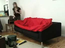 Ikea Kramfors Sofa Cover by How To Not Put An Ikea Cover Onto An Ikea Sofa Couch Youtube