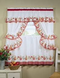 White Eyelet Kitchen Curtains by Red And White Kitchen Curtains Different Curtain Design Patterns