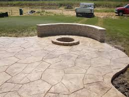 Concrete Backyard Patio | Home Outdoor Decoration Backyards Cozy Small Backyard Patio Ideas Deck Stamped Concrete Step By Trends Also Designs Awesome For Outdoor Innovative 25 Best About Cement On Decoration How To Stain Hgtv Impressive Design Tiles Ravishing And Cheap Plain Abbe Perfect 88 Your