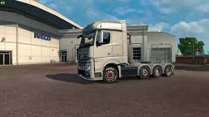 ETS 2 2014 Mercedes Actros MP4 8x4 Chassis - YouTube