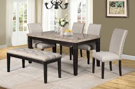 Sutton Dining Table Set; Table + 4 Chairs + Bench (6 PCS. SET ... 4 Chair Kitchen Table Set Ding Room Cheap And Ikayaa Us Stock 5pcs Metal Dning Tables Sets Buy Amazoncom Colibrox5 Piece Glass And Chairs Caprice Walkers Fniture 5 Julia At Gardnerwhite Pc Setding Wood Brown Ikayaa Modern 5pcs Frame Padded Counter Height Ding Set Table Chairs Right On Time Design 4family Elegant Tall For Sensational