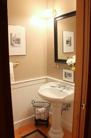 Half Bathroom Ideas For Small Spaces by A Tiny Half Bath Talk Of The House