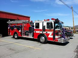 Fire Truck Draped For Funeral | Firefighter 110 Memorial | Pinterest