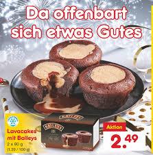 hack ag baileys lava cakes mit flüssigem kern diese