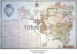 Jurisdictional Map Of The Grand Duchy Tuscany 1751 By Ferdinando Morozzi 1723