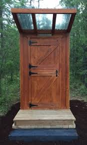 pacific northwest privy diy outhouse do it yourself home