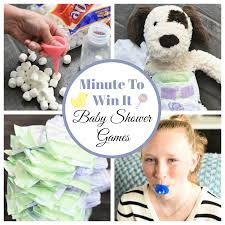 Fun Minute To Win It Baby Shower Games FunSquared
