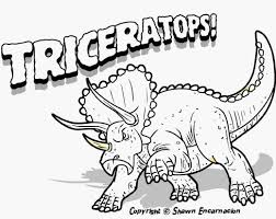 Free Coloring Pages Dinosaurs 17
