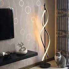 standleuchten dimmbare led spirale stehle elinkume 30w einstellbar licht moderne kreative einzigartige perfekt für innendekoration