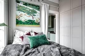kleines schlafzimmer mit großen schrank wohnideen einrichten