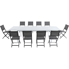 Shop Cambridge Palermo 11-Piece Outdoor Dining Set With 10 Folding ... Office Conference Tables Used Justheitcom China Modern Fashionable Mesh Ergonomic Chair Foldable School Pin By Prtha Lastnight On Room Ideas Low Budget In 2019 Folding Table And Chairs Amazoncom Gfl Home Room Appealing Bamboo With Canvas Cover And Reading For Sale Ap Ding Storage Facil Fniture Small Fold Tablemeeting Wheels Fnitures 6ft Plasticng Cheap Covers Walmart In Store Boardroom Source White Height For Banquet