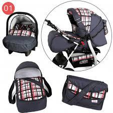siege auto tex notice baby travel system pram pushchair volver with carrycot car seat