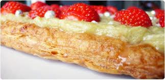 tarte aux fraises pate feuilletee tartes feuilletée à la compotée de rhubarbe et fraises gariguette