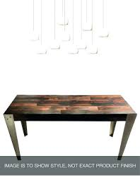 Dining Table Made In Usa Reclaimed Wood Hand Welded Steel Industrial Custom Flag