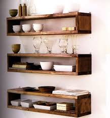 Box Shelves On Wall Rectangle Dark Brown Rustic Varnished Wooden Floating Shelf 17 Best Ideas About