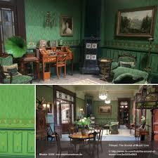 ideen für die wandgestaltung in grün und grüntönen grüne