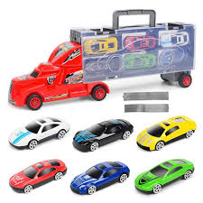 2019 Portable Large Container Truck Kids Alloy Trailer With 6 Cars ... 13 Top Toy Trucks For Little Tikes Ourwarm New Year27s Toys Vintage Red Metal Truck Kids Holiday Gifts 2019 Portable Large Container Alloy Trailer With 6 Cars Vehicle Playsets Wilkocom Free Shipping Russian Kamaz Military Model Diecast A Pcs Set Kidss Scale Machines Car Mini Best Choice Products Ride On Fire Truck Speedster Wvol Channel Electric Rc Remote Control Full Functional Christmas Gift With Movable Wheel The 15 Coolest Garbage For Sale In 2017 And Which Is Trucktank Trucks