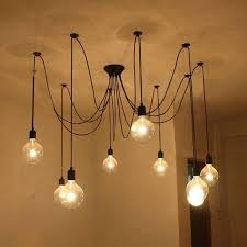 lovable hanging ceiling lights ideas edison bulb light photo on