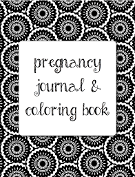 1499 Pregnancy Journal Coloring Book