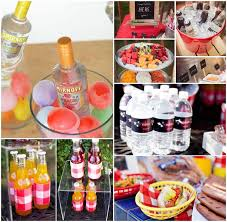 Bbq Party Drink Ideas Names Outfit Barbecue Jeux Socit With For