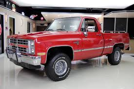 100 4x4 Chevy Trucks For Sale 1985 Chevrolet Silverado Classic Cars For Michigan Muscle