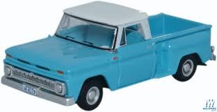 100 1965 Chevy Stepside Truck Oxford Chevrolet Pickup Assembled Light Blue