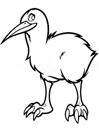 Kiwi Birds Coloring Pages 5