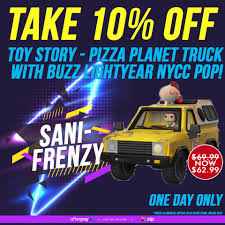 100 Toy Story Pizza Planet Truck Sanity Fans Grab This Facebook