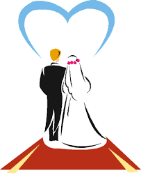 Couple Kiss Wedding Clip Art From