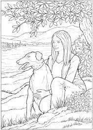 Dogs To Paint Or Color Dover Art Coloring Book