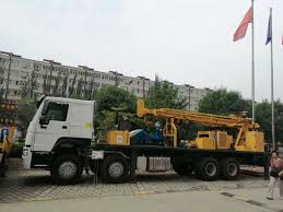 100 Truck Well China 6X4 HOWO Mounted Hydraulic Deep Water Borehole