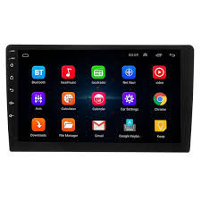 9 Inch Android 8 Quad Core Touch 2 Din Car Stereo Radio Bluetooth