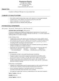 Sample Chef Resume Objective Examples Template Objectives