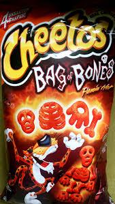 Utz Halloween Pretzels by Review Cheetos U2013 Bag Of Bones Flamin U0027 Chip Review