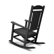 Presidential Recycled Plastic Wood Patio Rocking Chair By POLYWOOD ...
