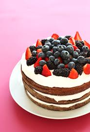 AMAZING 1 Bowl Chocolate Cake with Coconut Whipped Cream with Berries The perfect summer