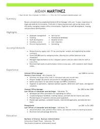 Restaurant General Manager Resume Examples Free To Try Today Pertaining Sample Busser Duties