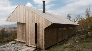 100 Mountain Architects Jon Danielsen Aarhus Creates Pineclad Mountain Cabin In Norway For