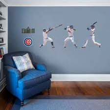 Big Ang Mural Chicago by Chicago Cubs Fathead Wall Decals U0026 More Shop Mlb Fathead