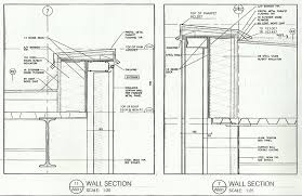 Kawneer Curtain Wall Cad Details by Curtain Wall Parapet Detail Decorate The House With Beautiful