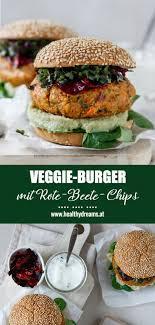 veggie burger mit süßkartoffel emmentaler laibchen healthy