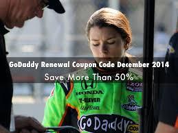 GoDaddy Renewal Coupon Code December 2014 By Digitalmed