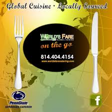 100 World Fare Food Truck S Catering State College Pennsylvania