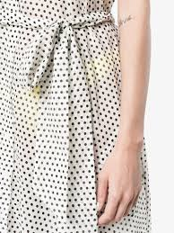 lisa marie fernandez polka dot shirt dress beach cover ups
