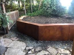 Concrete Retaining Wall - Harold J. Pietig & Sons Outdoor Wonderful Stone Fire Pit Retaing Wall Question About Relandscaping My Backyard Building A Retaing Backyard Design Top Garden Carolbaldwin San Jose Bay Area Contractors How To Build Youtube Walls Ajd Landscaping Coinsville Il Omaha Ideal Renovations Designs 1000 Images About Terraces Planters Villa Landscapes Awesome Backyards Gorgeous In Simple