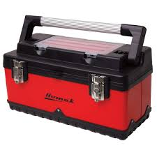 Homak 20 In. Hand-Carry Tool Box, Red-RD00120004 - The Home Depot Alinum Truck Tool Boxes Equipment Accsories The Husky 70 In Topsider Black Lowprofile Boxthd70lpb 713 X 205 176 Matte Full Size Dewalt Tstak Vi 17 Deep Box Boxdwst17806 Home Depot Lund 53 In Gun 8227 With Wheel 26 Plastic With Metal Latches Black235580 37 Mobile Job Utility Cart Black209261 Portable Storage Homak 20 Handcarry Redrd120004 18 Drawer Chest Trucks Or Midsize Cargo Management