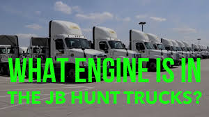 What Type Of Engine Is In The JB Hunt Trucks - YouTube Truck Driver Pay Reform Schneider Jb Hunt Swift Wner Cr Twin Cities Mn Driving School 6517359250 Youtube Trucking Life Still A Hard Sell The Daily Gazette Page 1 Ckingtruth Forum Drivejbhuntcom Learn About Military Programs And Benefits At Jb And Walmart Have Already Local Jobs Success Navistar Supplies Transport Services Aoevolution Intermodal Owner Operator New In Los Best 2018 Women Drivers Series Advice For Pin By Jacob Thompson Arnone On Trucks Pinterest