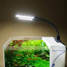 15w led aquarium light arm clip on plant grow fish tank