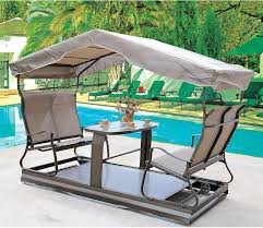 Outdoor Table outdoor power four rocking chair courtyard