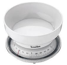 balance cuisine terraillon balance de cuisine mécanique t205 blanche achat